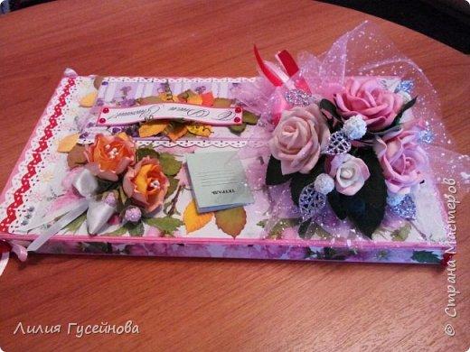 Скоро 1 сентября, решили в этом году подарить нашей учительнице коробку конфет merci. Взяли большую. Долго думали как оформить. Вот что получилось. фото 4