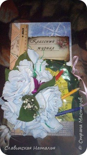 Скоро 1сентября, и как всегда дарим сладкий подарок, шоколадницу делали, нужно что то новенькое...  фото 14