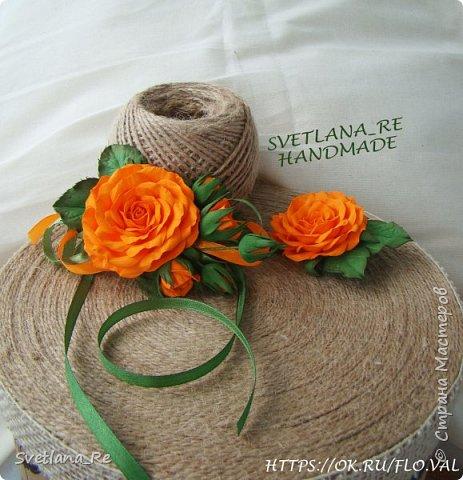 В этих украшениях моя подруга выходила замуж ) Слева - брошь на пояс платья Правее - заколочка в волосы. Она укладывалась плотно по голове с одной стороны фото 2