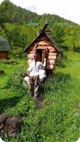 Сегодня приглашаю прогуляться по ботаническому саду, который находится близ села Камлак. В названиях цветов я совсем не сильна, поэтому предлагаю просто полюбоваться фото 33