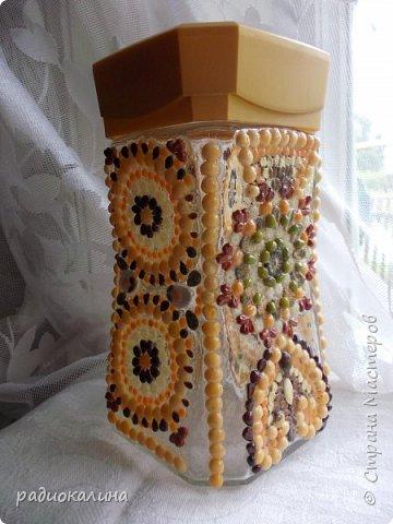 """Доброго дня, мои дорогие друзья и соседи! В своей любимой технике флористической мозаики или аппликации (кому как нравится) я сделала несколько вещей и хочу показать их вам. Это панно """"Дары лета"""" - композиция из теплых солнечных семян. Лето - пора цветов и тепла, солнца и радости. Использованы семена перловка, чечевица , пшено, айва японская и другие. фото 7"""