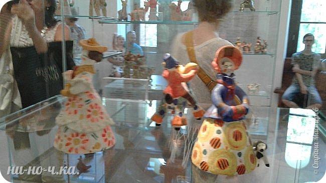"""Здравствуйте, дорогие мастера СМ... Сегодня я продолжаю свой репортаж по музею""""Царицыно"""" и продолжаю с выставки народных ремесел... """" Дымково""""... фото 1"""