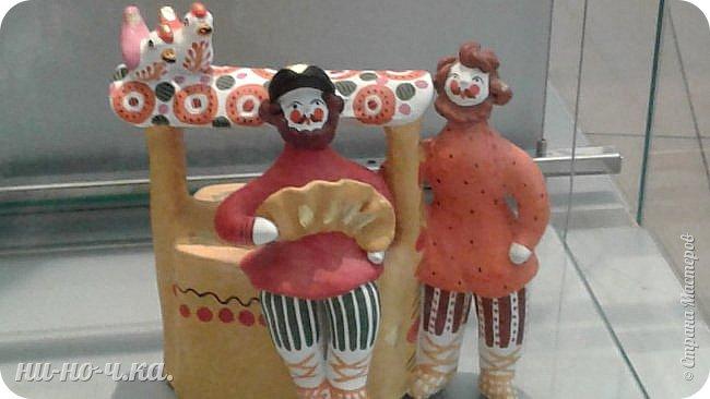 """Здравствуйте, дорогие мастера СМ... Сегодня я продолжаю свой репортаж по музею""""Царицыно"""" и продолжаю с выставки народных ремесел... """" Дымково""""... фото 4"""