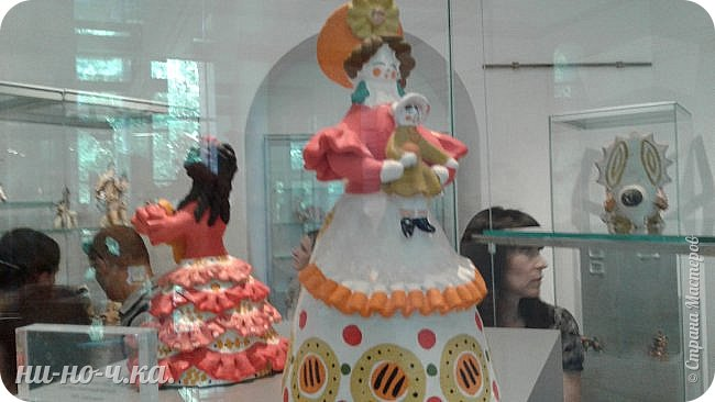 """Здравствуйте, дорогие мастера СМ... Сегодня я продолжаю свой репортаж по музею""""Царицыно"""" и продолжаю с выставки народных ремесел... """" Дымково""""... фото 5"""