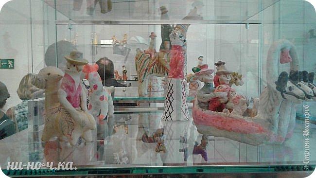 """Здравствуйте, дорогие мастера СМ... Сегодня я продолжаю свой репортаж по музею""""Царицыно"""" и продолжаю с выставки народных ремесел... """" Дымково""""... фото 9"""