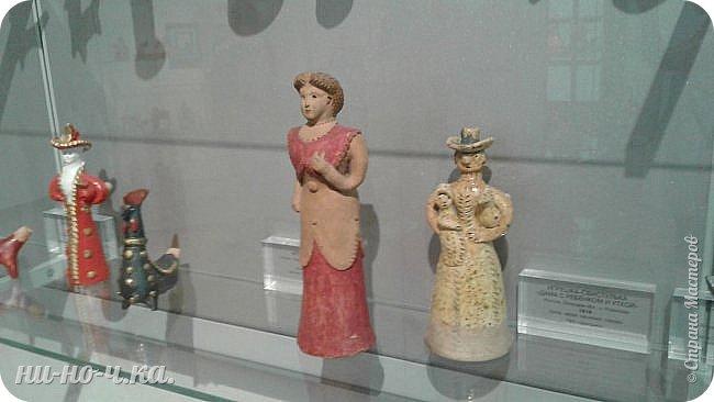 """Здравствуйте, дорогие мастера СМ... Сегодня я продолжаю свой репортаж по музею""""Царицыно"""" и продолжаю с выставки народных ремесел... """" Дымково""""... фото 13"""