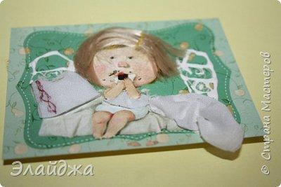 """Привет всем! Сегодня я с АТС серией, которая родилась спонтанно увидев работы мастерицы ИРИСКА 2012 , ее серию """"Счастье"""" (http://stranamasterov.ru/node/1109851). Я вспомнила, что у меня тоже есть 3 такие открыточки с картинками художницы Евгении Гапчинской , их в коробках конфет находят, есть такая серия.... Раньше их крутила-вертела и все не могла понять что с ними делать...видать всему свое время. Ириша спасибо за творческий толчек. фото 5"""