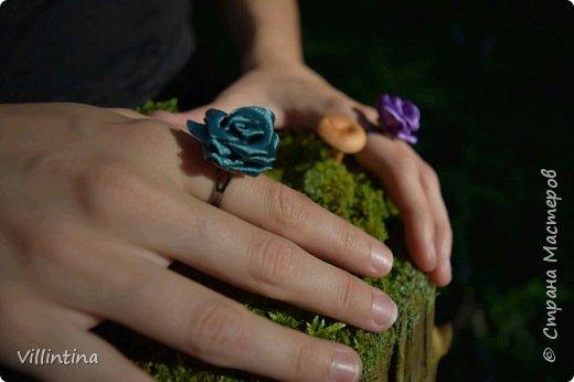 "МК: создаем кольцо ""Роза"" в технике канзаши"