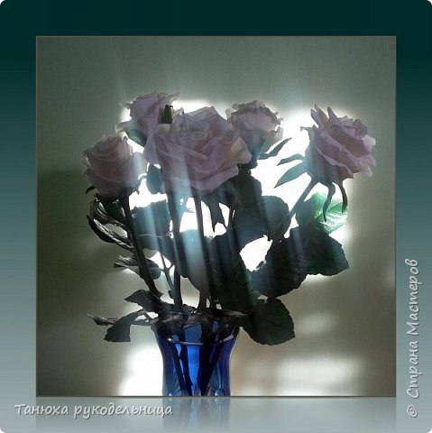 Здравствуй Страна! У меня снова розы из фарфора. фото 4