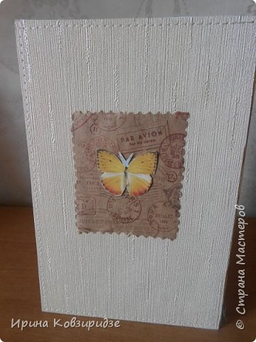 Три открытки. декорированные зелёным шёлком. фото 18