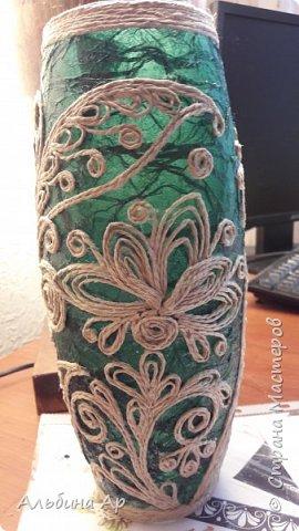 Здравствуйте! Показываю новую вазу под малахит.  фото 3