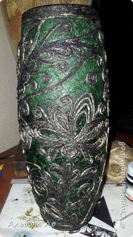 Здравствуйте! Показываю новую вазу под малахит.  фото 4