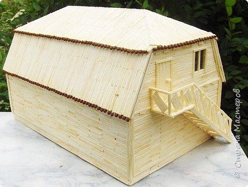 """Магазин """"Авоська"""". Размер макета 20х26х14 см. 101 коробок спичек. фото 4"""