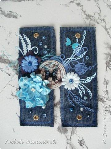 Всем привет! Хочется показать еще одну растяжку. Сделана она из джинсовой ткани. Длина 50см, высота букв 14см. фото 4