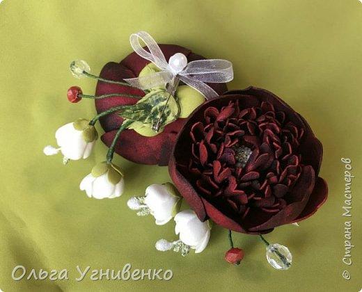 Приветствую всех жителей и гостей прекрасной СТРАНЫ МАСТЕРОВ!! Представляю Вам браслеты и кольца для подружек невесты (заказ). Цветы выполнены из фома, украшены бисером, бусинами и ленточками. фото 12