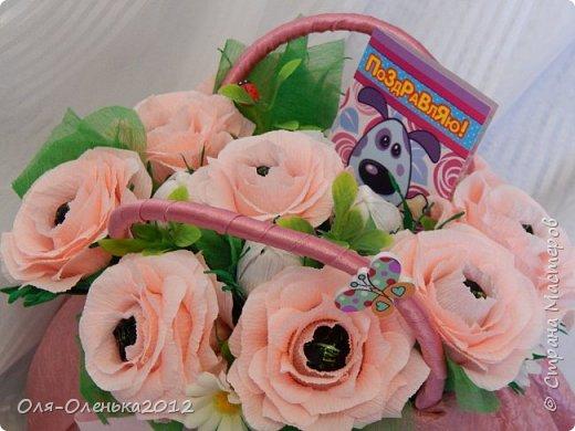 Сумочка с конфетами для девочки на День рождения.Прошу строго не судить,так как в этом я-новичок!Очень хотелось удивить именинницу. фото 6