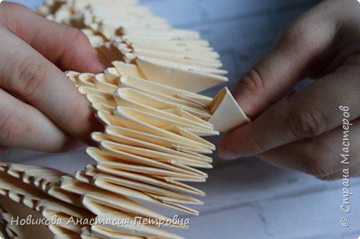 """Участвовали в прошлом учебном году со  старшей дочерью  в конкурсе оригами. Тема конкурса была """"Большая география"""". Необходимо было подумать и решить, в каком интересном месте хотелось бы побывать! Думали, думали и придумали. Приготовьтесь с нами сделать свой """"Колизей"""" или амфитеатр Флавиев! :) фото 8"""