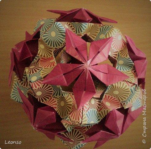 Kusudama Dual-Coloured by Aileen Edwin фото 2