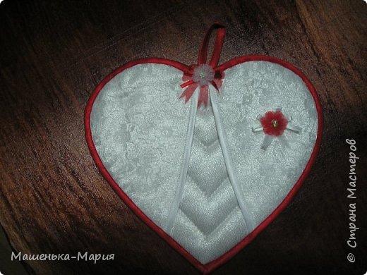Прихватки в форме сердечек, изображающих жениха и невесту, на юбилей свадьбы очень хорошим людям.  фото 3
