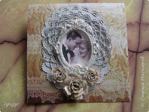 Открытки свадебные винтажные фото 1