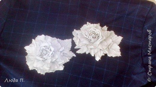 Цветы из кожи на 1 Сентября фото 1