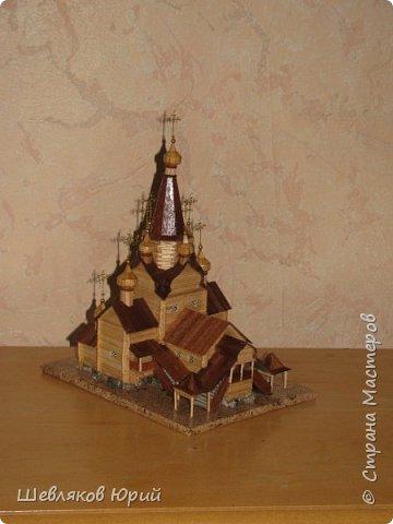 церковь Спаса Преображения. 1665 г. Большой Тихвинский посад (Не сохранилась) фото 1