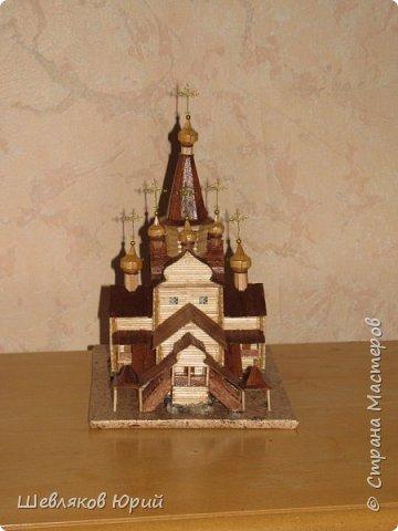 церковь Спаса Преображения. 1665 г. Большой Тихвинский посад (Не сохранилась) фото 2