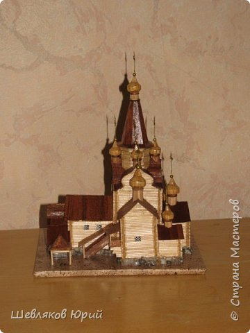 церковь Спаса Преображения. 1665 г. Большой Тихвинский посад (Не сохранилась) фото 3