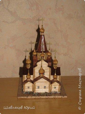 церковь Спаса Преображения. 1665 г. Большой Тихвинский посад (Не сохранилась) фото 4