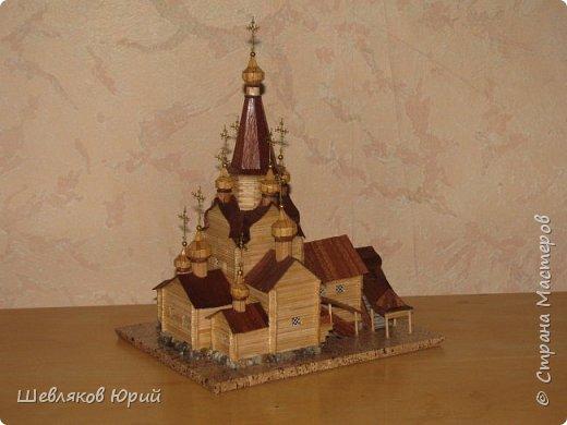 церковь Спаса Преображения. 1665 г. Большой Тихвинский посад (Не сохранилась) фото 5