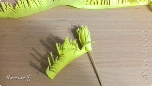 Одуванчики из фоамирана фото 4