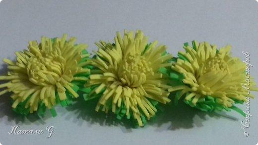 Одуванчики из фоамирана фото 1