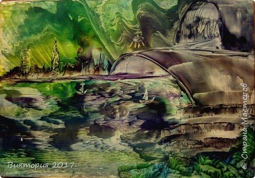 Вашему вниманию ещё несколько работ из темы необычные пейзажи.  фото 2
