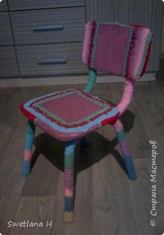 В ход пошел старый детский стульчик. фото 1