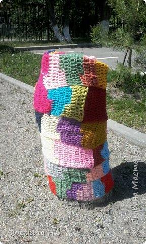 В ход пошел старый детский стульчик. фото 7