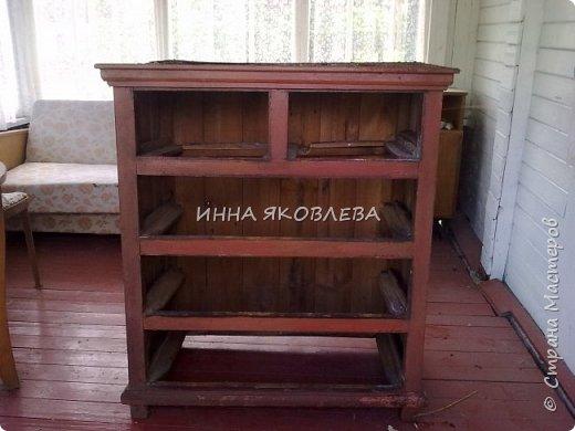 Прабабушкин довоенный комод.  фото 3
