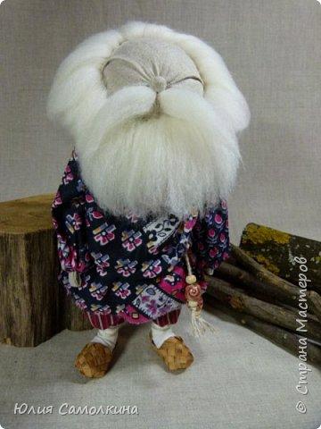 Дед (по мотивам народной куклы) фото 1