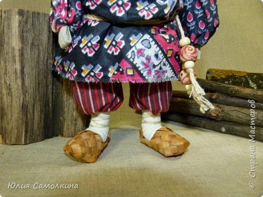 Дед (по мотивам народной куклы) фото 3