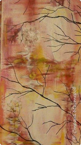 Рисунок на стене акрилевыми красками.