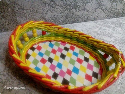 Здравствуйте, дорогие гости! Сегодня я хочу показать вам свои последние плетушки, предназначенные для служения на кухне. Это хлебницы-печенюшницы-конфетницы, наборы для специй. Итак, приятного просмотра! фото 23