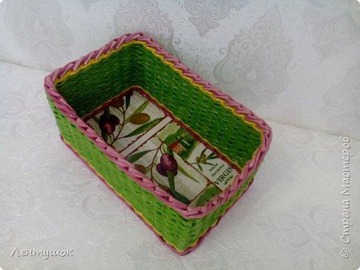 Здравствуйте, дорогие гости! Сегодня я хочу показать вам свои последние плетушки, предназначенные для служения на кухне. Это хлебницы-печенюшницы-конфетницы, наборы для специй. Итак, приятного просмотра! фото 8