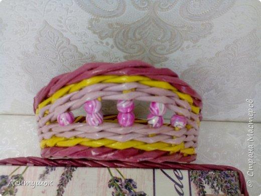 Здравствуйте, дорогие гости! Сегодня я хочу показать вам свои последние плетушки, предназначенные для служения на кухне. Это хлебницы-печенюшницы-конфетницы, наборы для специй. Итак, приятного просмотра! фото 17