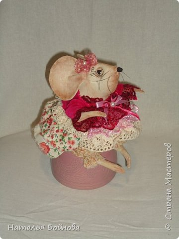Мышка Сонечка фото 1