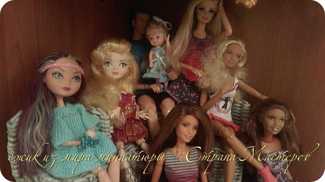 За несколько месяцев у нас собралась коллекция кукол. фото 3