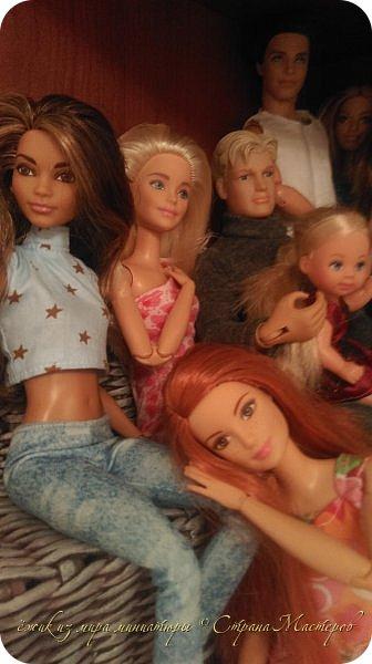 За несколько месяцев у нас собралась коллекция кукол. фото 4