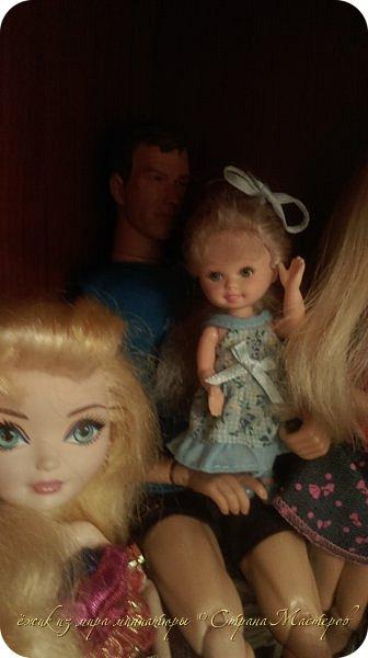 За несколько месяцев у нас собралась коллекция кукол. фото 8