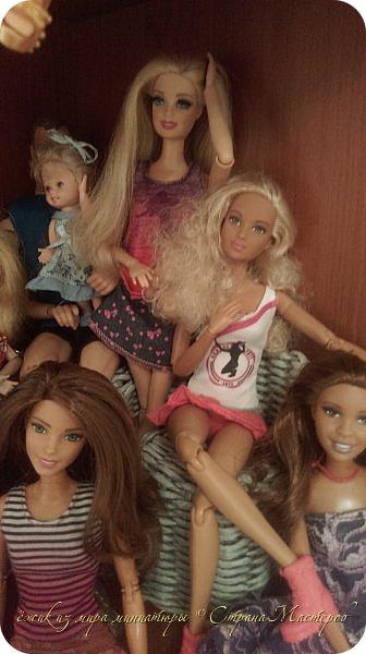 За несколько месяцев у нас собралась коллекция кукол. фото 9