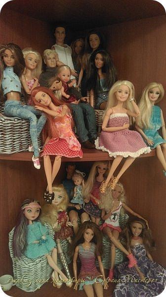 За несколько месяцев у нас собралась коллекция кукол. фото 1
