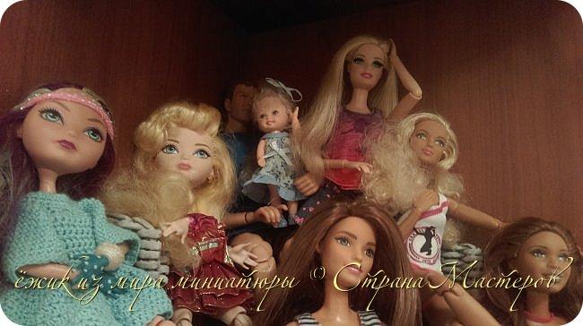 За несколько месяцев у нас собралась коллекция кукол. фото 14