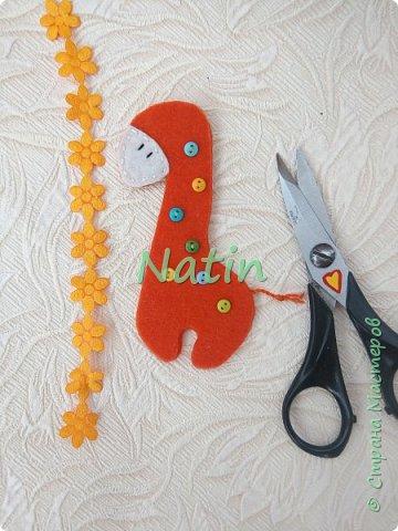 Как-то у нас было оранжевое настроение... И пошились такие жирафики... фото 16
